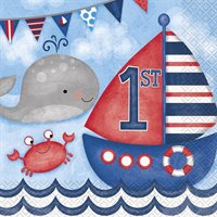 First Birthday - Little Sailor Nautical