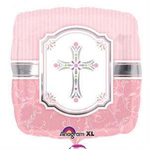 COMMUNION BLESSINGS PINK 18''