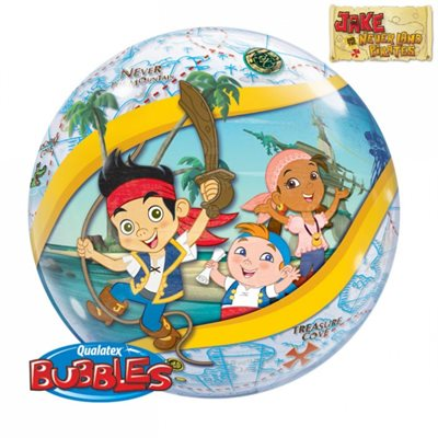 MYLAR BULLE JAKE ET LES PIRATES 22 po.
