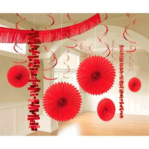 PAPER & FOIL DECORATING KITS 18/PKG