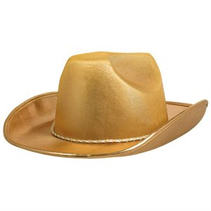 CHAPEAU COWBOY VELOURS - OR