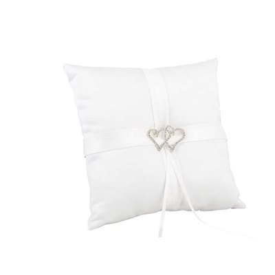 Pillow all my heart white