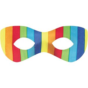 MASQUE DE SUPER HERO - ARC-EN-CIEL
