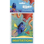 CARTES D'INVITATION TROUVER DORIS 8/PQT
