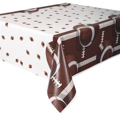 FOOTBALL - NAPPE EN PLASTIQUE 54 X 84 PO.