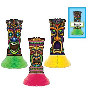 TIKI PLAYMATES (3PK)(INCLUDE 3 NAME CARD