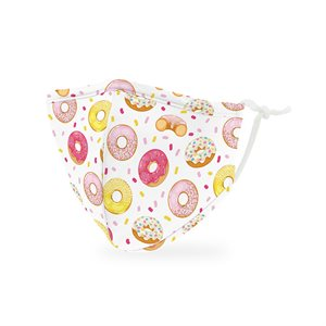 KID'S PROTECTIVE CLOTH FACE MASK - DONUTS