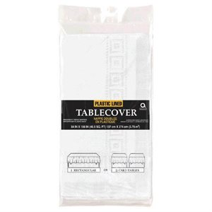 3-PLY PAPER TABLE COVER 54'' X 108''