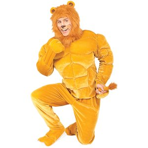 COSTUME DE LION MUSCLÉ - STD