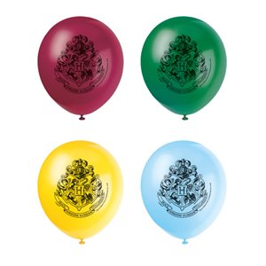 HARRY POTTER - 12'' LATEX BALLOONS 8CT