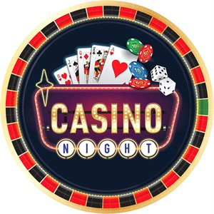 CASINO - ASSIETTES 10.5 PO. 8/PQT