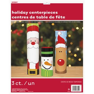 CENTRES DE TABLE NOËL 3/PQT