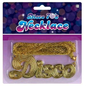 70'S DISCO NECKLACE