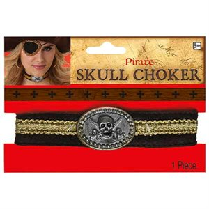 COLLIER CHOKER DE PIRATE