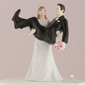 to have to hold couple figurine cake toppers