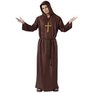 ADULT MONK ROBE ONE SIZE