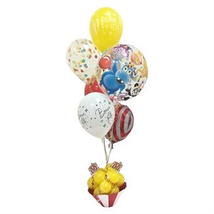 BALLOONS ARRANGEMENT - CIRCUS BUBBLE