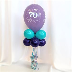 BALLOONS ARRANGEMENT - AGE BALLOON