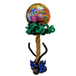 AIR ARRANGEMENT - 4 FT. TREE WITH 18 IN. FOIL BALLOON