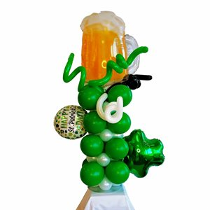 FASHION ARRANGEMENT - ST. PATRICK'S DAY WITH BEER BUCK