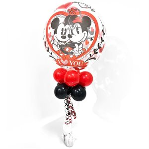 MONTAGE - BULLE I LOVE YOU MICKEY ET MINNIE