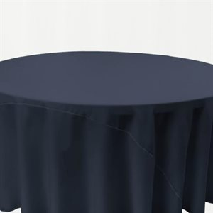 POLYESTER ROUND TABLECLOTH 120'' - RENTAL
