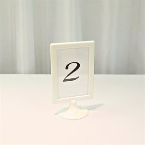 TABLE NUMBER - RENTAL