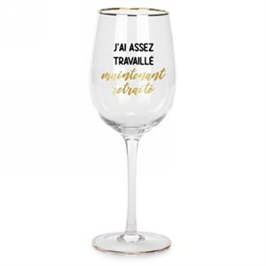WINE GLASS - MAINTENANT RETRAITÉ