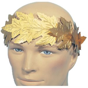 ROMAN WREATH-GOLD FOIL
