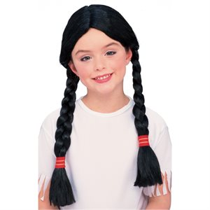 NATIVE AMERICAN GIRL WIG