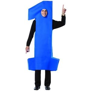 #1 COSTUME BLUE ADULT
