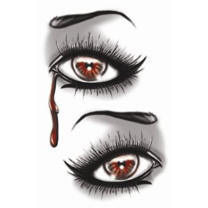 TATTOO FX YEUX SANGLANTS