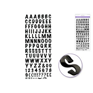 PAPER CRAFT STICKER - 5''X12'' FOIL FANCY EVERYDAY THEMES CL