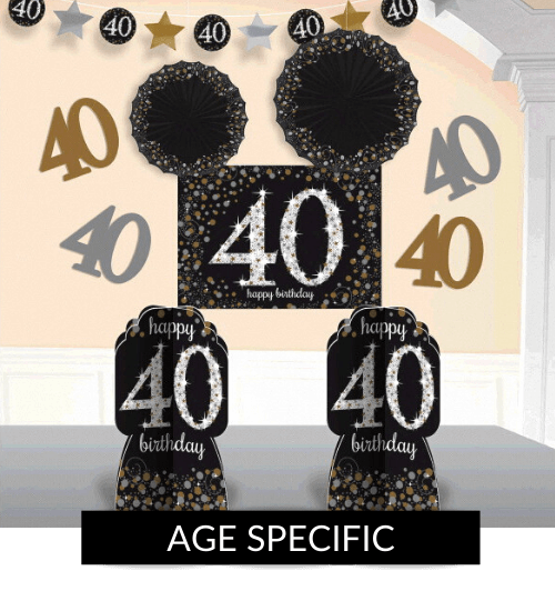 Shop - Age Specific Birthday